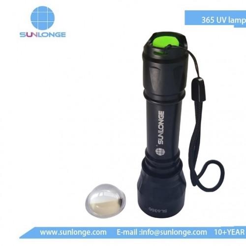 UV Leak Detection Flashlight