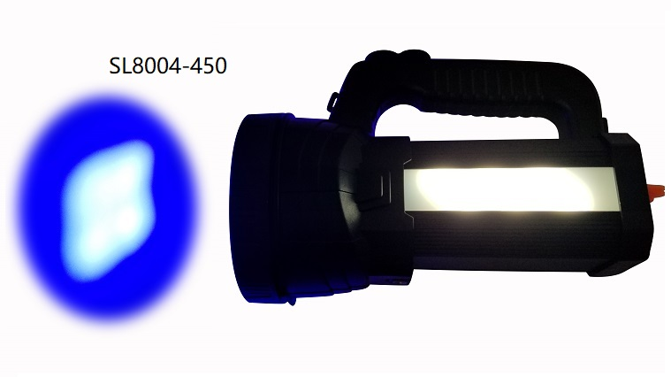 UVL8904-450 4-LED Blue Light 6 whtite side light Leak Detection Lamp