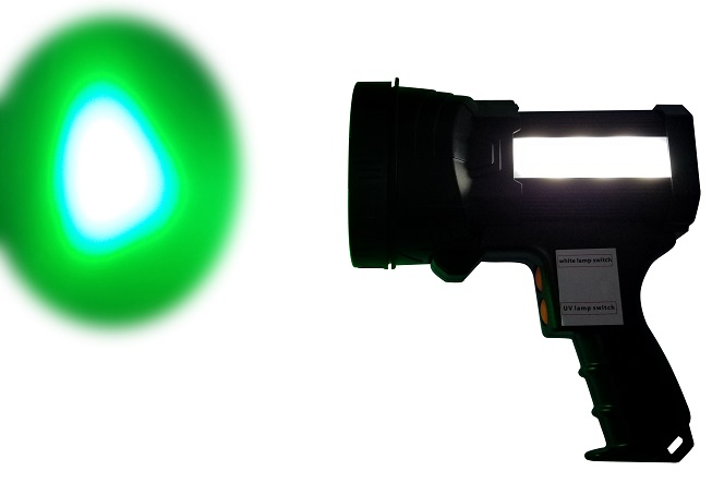 SL8904-G Green surface inspection Lamp with white side light